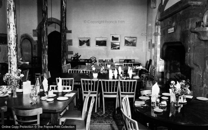 Photo of Castle Bolton, Bolton Castle, The Great Hall c.1960