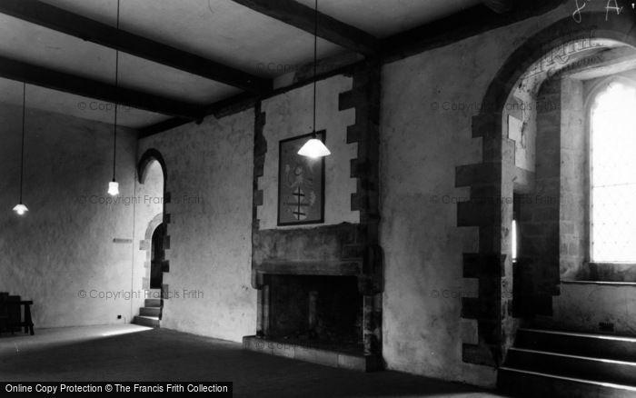 Photo of Castle Bolton, Bolton Castle, Upper Chamber Solar c.1960