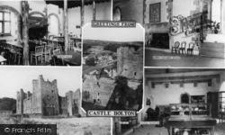 Castle Bolton, Composite c.1960