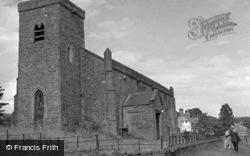 St Oswald's Church 1951, Castle Bolton