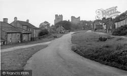 Castle Bolton, The Village c.1955