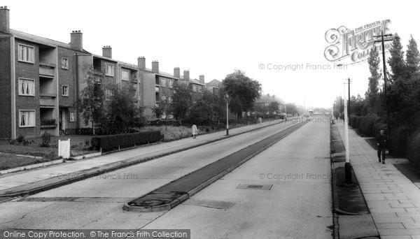 Castle Bromwich, Hurst Lane c1965