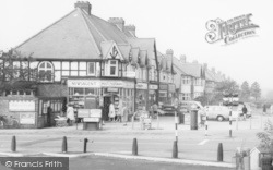 Shops In Chester Road c.1965, Castle Bromwich