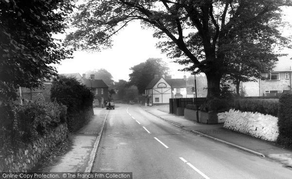 Photo of Castle Bromwich, the Village c1965