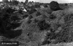 Castle Bytham, Castle Mound 1953