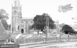 Castle Cary, All Saints Church c.1955