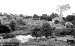 Castle Cary, All Saints Church From Lodge Hill c.1955