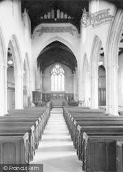 Castle Cary, Church Interior c.1960