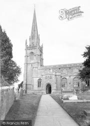 Castle Cary, Church Of All Saints c.1960