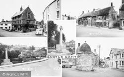 Castle Cary, Composite c.1965