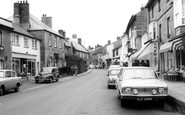Castle Cary, Fore Street 1968