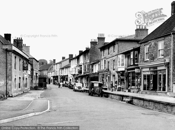 Castle Cary, Fore Street c1955