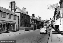Castle Cary, Fore Street c.1960