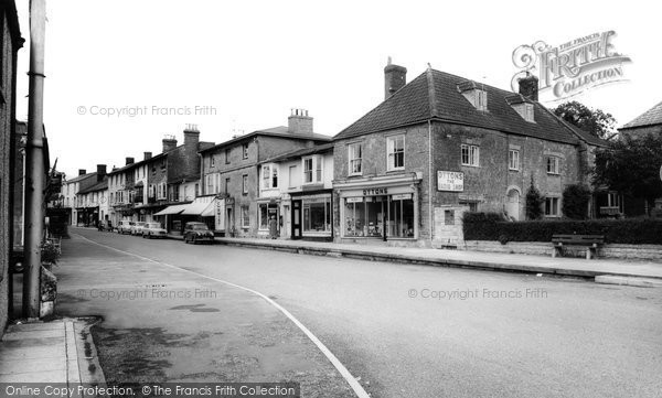 Photo of Castle Cary, Fore Street c.1965