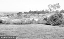 Castle Cary, General View c.1955