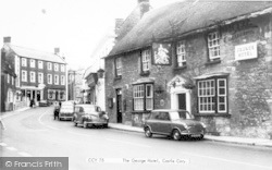 Castle Cary, George Hotel c.1970