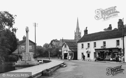Castle Cary, Horse Pond And The Triangle c.1955