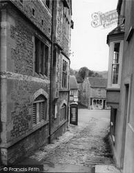 Castle Cary, The Cobbles c.1960