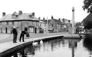 Castle Cary, the Horse Pond c1955