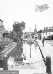 Castle Cary, The Horse Pond c.1955