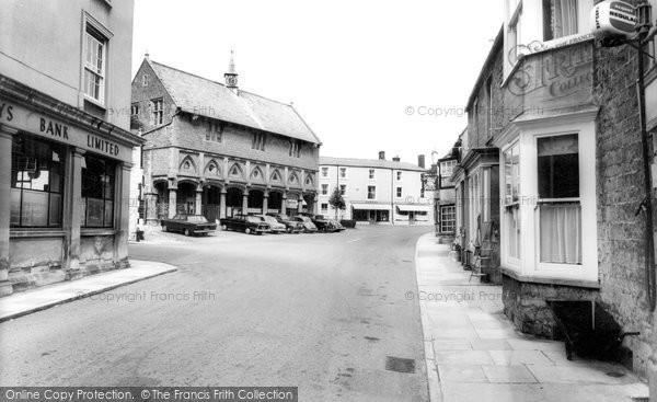 Castle Cary, the Market Place c1960