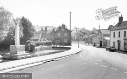 Castle Cary, The Triangle c.1960