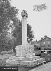 Castle Cary, The War Memorial c.1965