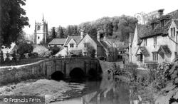 Bridge And St Andrew's Church c.1955, Castle Combe