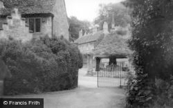 Castle Combe, Church Path c.1955