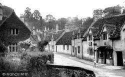Castle Combe, Main Street c.1939