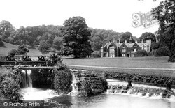 Castle Combe, Manor House And Weir 1907