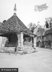 Castle Combe, Market Cross 1951