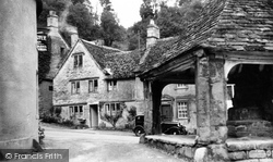 Castle Combe, Near The Old Cross c.1955