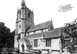 Castle Combe, St Andrew's Church 1906