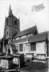Castle Combe, St Andrew's Church 1907