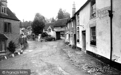 Castle Combe, The Archway Cottage c.1955