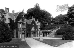 Castle Combe, The Manor House 1907