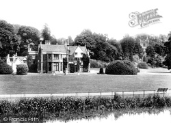 Castle Combe, The Manor House And St Andrew's Church 1907