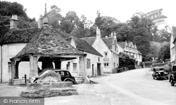 Castle Combe, The Old Cross c.1950