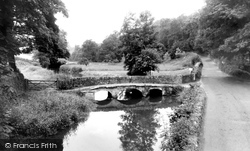 Castle Combe, The Old Roman Bridge c.1955