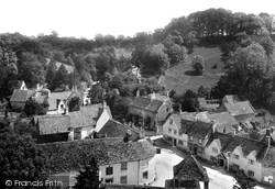 Castle Combe, The Village 1906