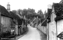 Castle Combe, The Village Street c.1965