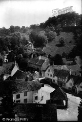 Castle Combe, View From The Church 1906