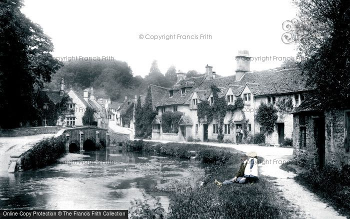 Photo of Castle Combe, Village 1904, ref. 51508p