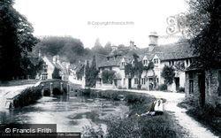 Castle Combe, Village 1904