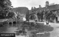 Village Stream 1907, Castle Combe
