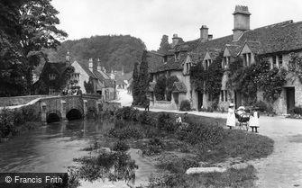 Castle Combe, Village Stream 1907