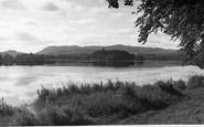 Castle Douglas, Carlingwark Loch c1955