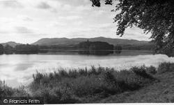 Carlingwark Loch c.1955, Castle Douglas