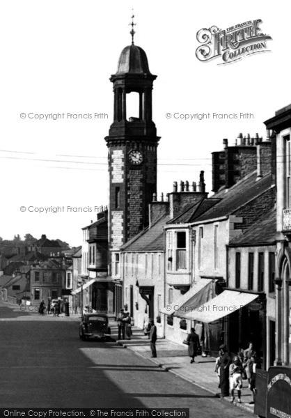 Photo of Castle Douglas, Clock Tower c.1955